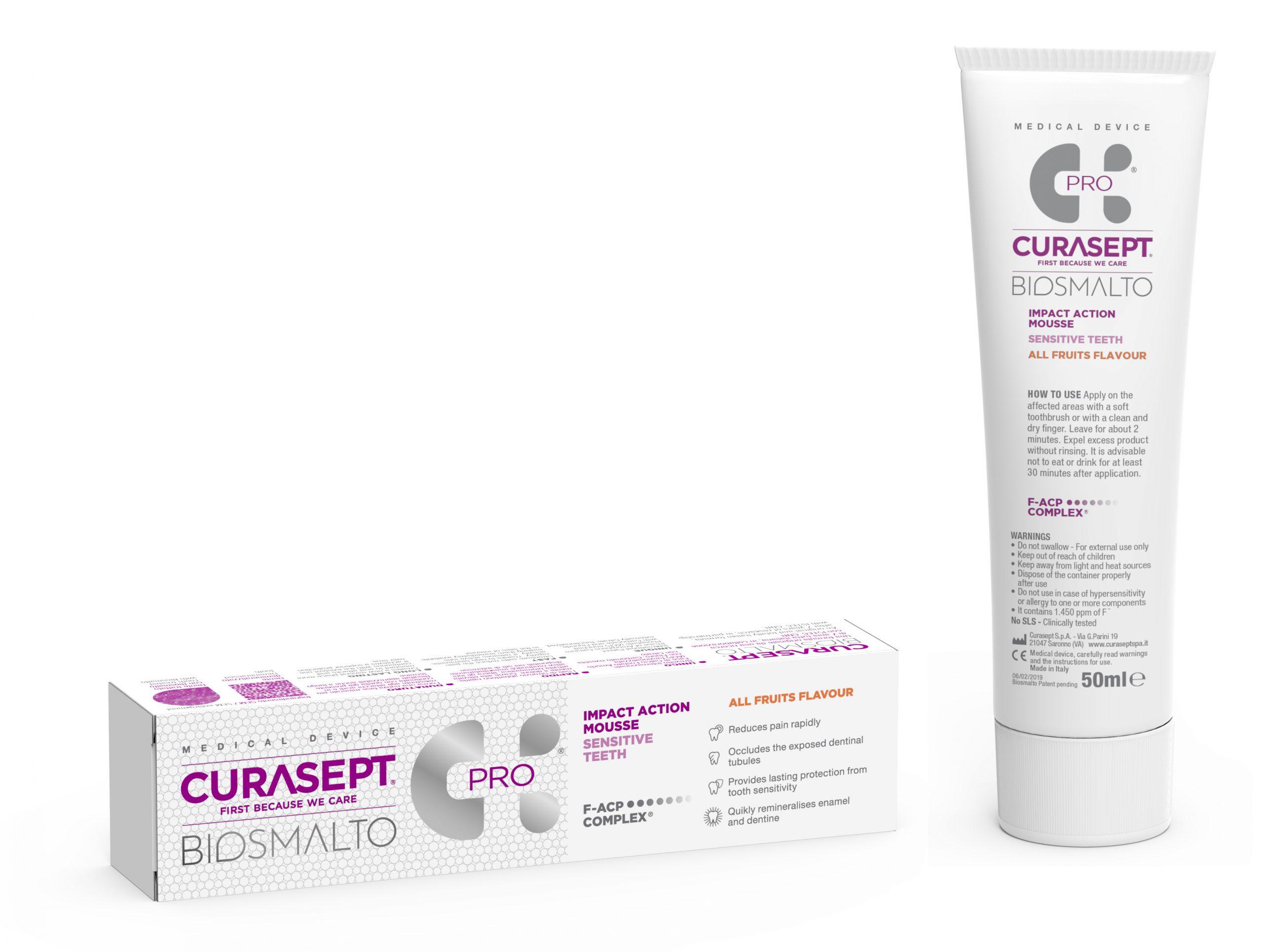 CS02363 Biosmalto Mousse Sensitive Teeth All Fruit 50 ml